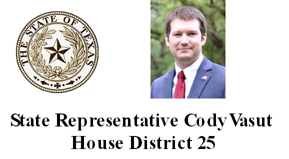 Representative Cody Vasut
